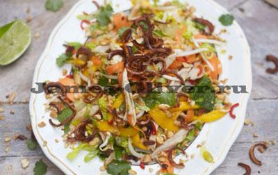 Тайский куриный салат