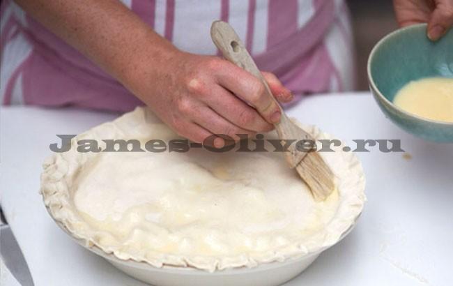 джейми оливер рецепт пирога с курицей