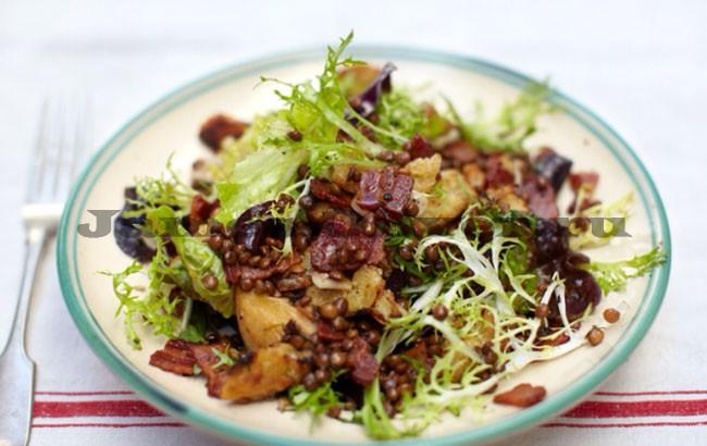 Салат с чечевицы рецепт