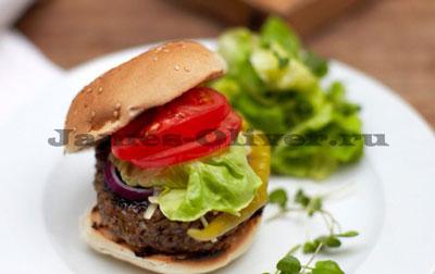Чизбургер в домашних условиях