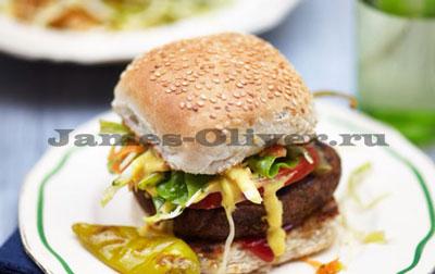 Гамбургер Фалафель