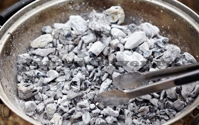 Подготовить угли