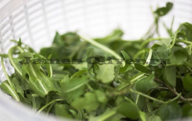 Вымыть салат