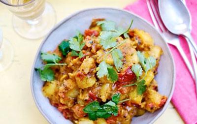 Картофель по Бомбейски
