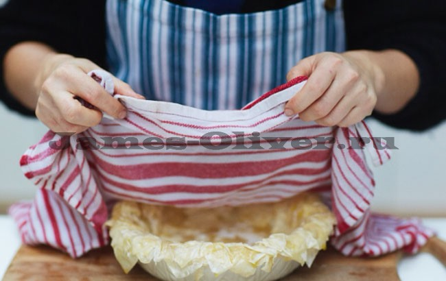 Накрыть полотенцем