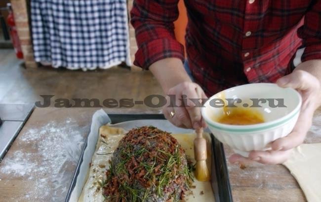 рецепт из филе индейки с грибами в духовке