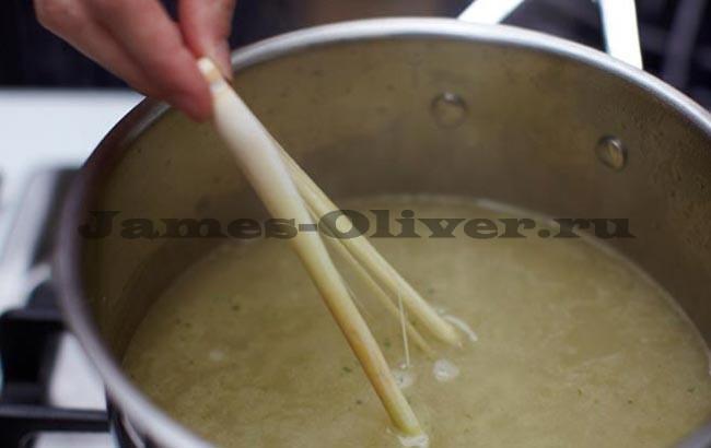 Готовим суп с креветками