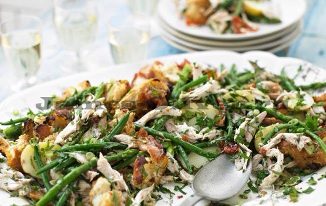 Приготовление итальянского салата
